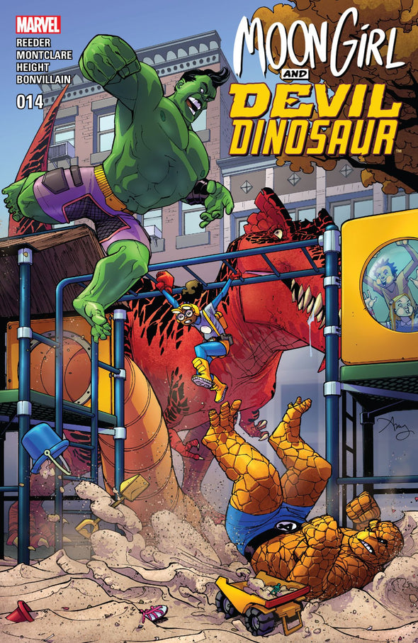 Moon Girl and Devil Dinosaur (2015) #14