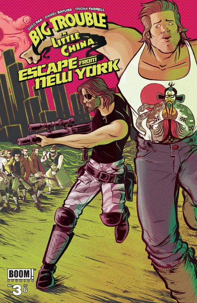 Big Trouble in Little China/Escape from New York (2016) #03