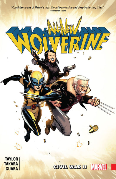 All-New Wolverine (2015) TP Vol. 02: Civil War II