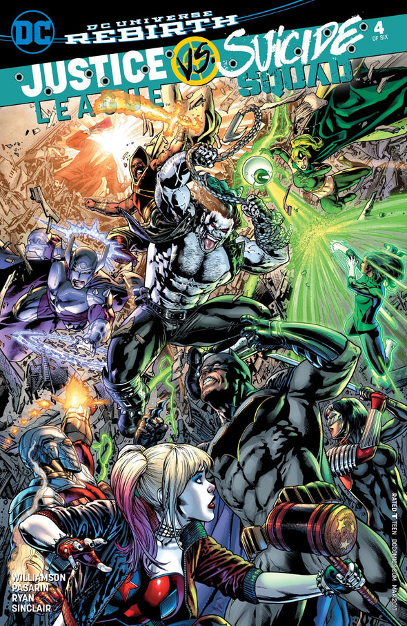 Justice League vs Suicide Squad (2016) #04