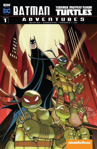 Batman/Teenage Mutant Ninja Turtles Adventures (2016) #01