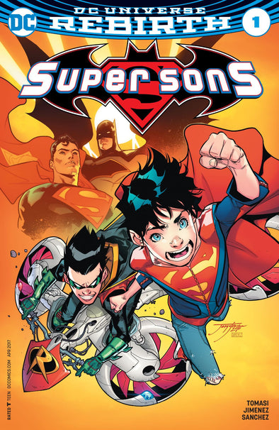 Super Sons (2017) #01 (Signed by Peter Tomasi + COA)