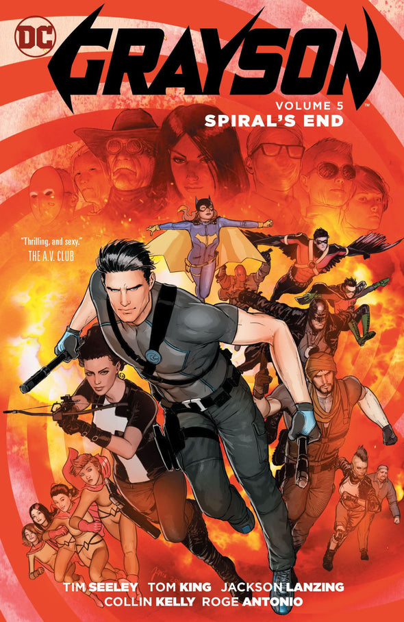 Grayson (2014) TP Vol. 05: Spiral's End