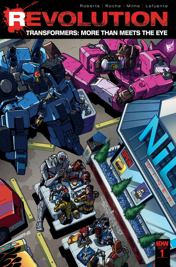 Transformers: More Than Meets the Eye: Revolution #01