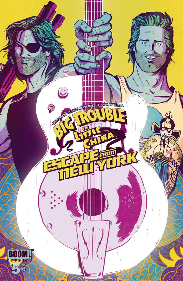 Big Trouble in Little China/Escape from New York (2016) #05