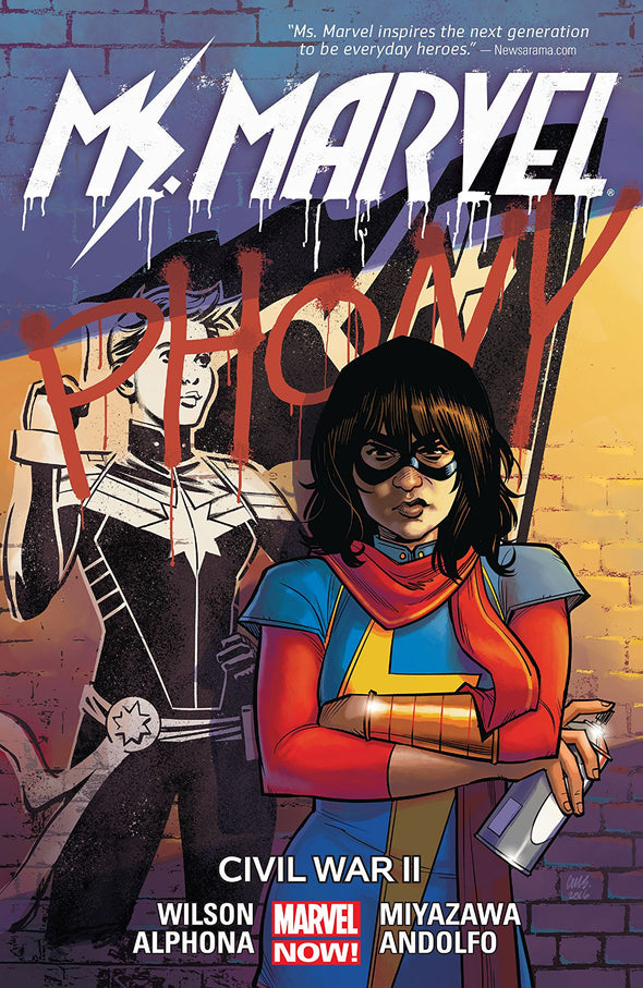 Ms. Marvel TP Vol. 06: Civil War II