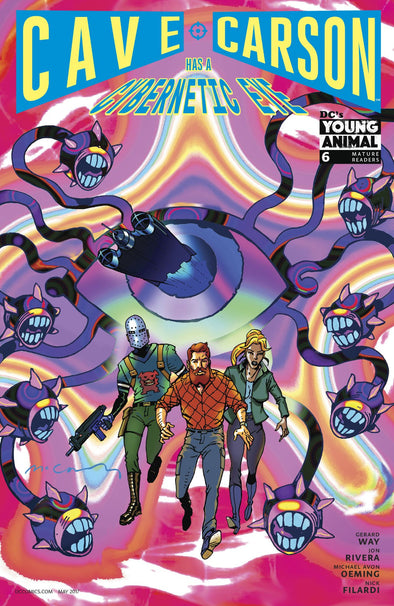 Cave Carson Has a Cybernetic Eye (2016) #06