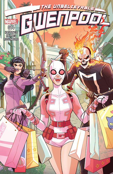 Gwenpool, The Unbelievable (2016) #14