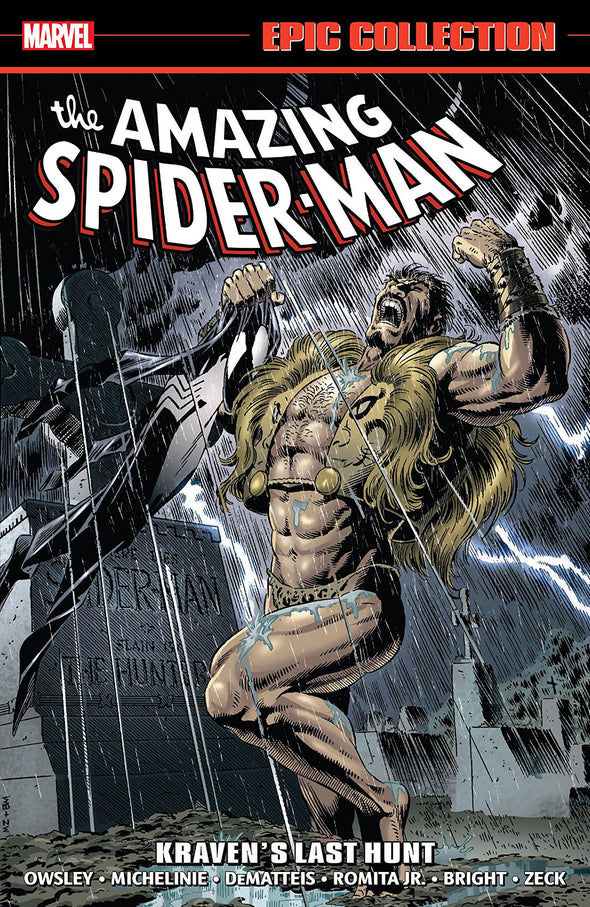 Amazing Spider-Man Epic Collection TP Vol. 17: Kraven's Last Hunt TP