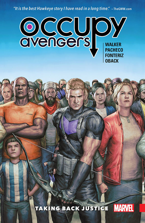 Occupy Avengers TP Vol. 01: Taking Back Justice