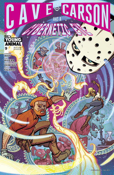 Cave Carson Has a Cybernetic Eye (2016) #09
