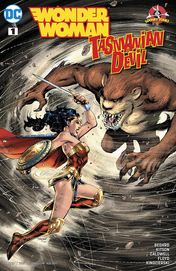 Wonder Woman/Tasmanian Devil Special (2017) #01