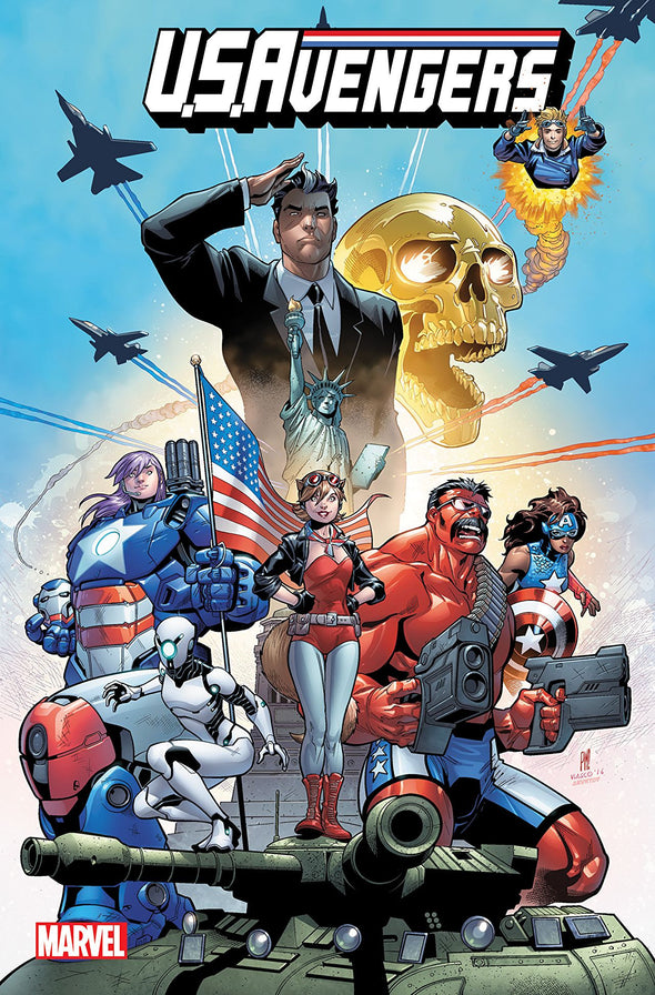 U.S.Avengers (2017) TP Vol. 01: American Intelligence Mechanics