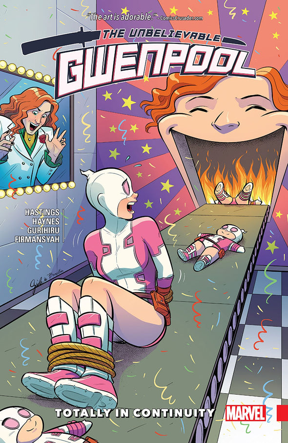 Gwenpool, The Unbelievable (2016) TP Vol. 03: Totally in Continuity
