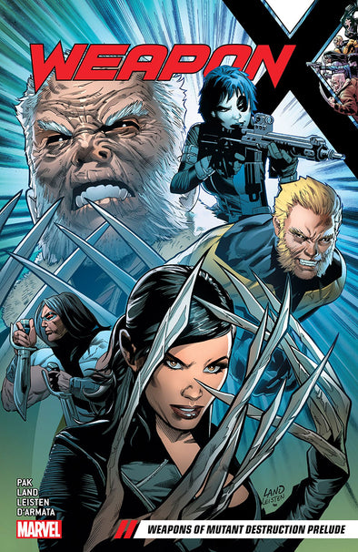 Weapon X (2017) TP Vol. 01: Weapons of Mutant Destruction Prelude
