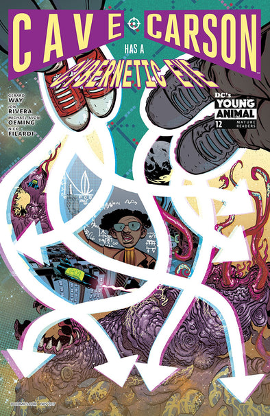Cave Carson Has a Cybernetic Eye (2016) #12