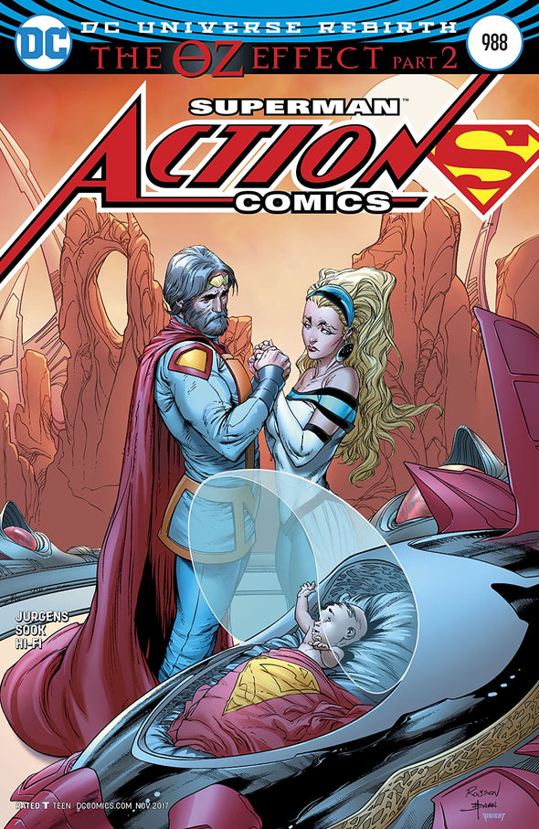 Action Comics (2016) #0988 (Lenticular Cover)