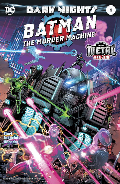 Batman: The Murder Machine (2017) #01