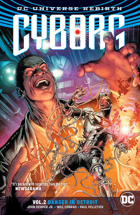 Cyborg (2016) TP Vol. 02: Danger in Detroit