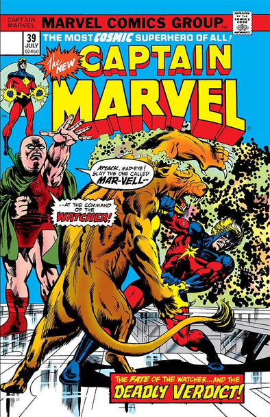 Captain Marvel (1968) #39