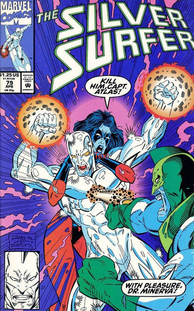 Silver Surfer (1987) #079