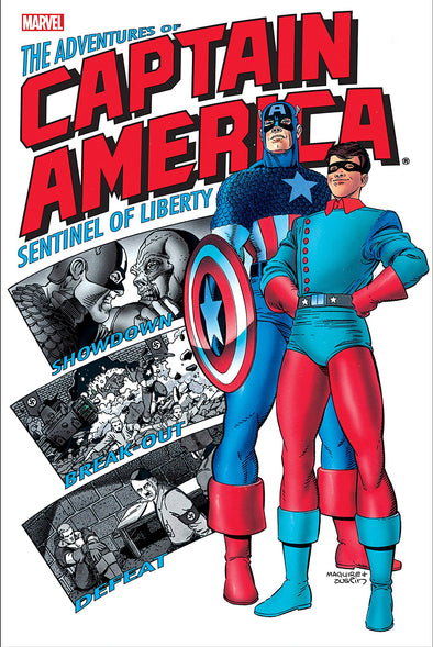 Adventures of Captain America TP