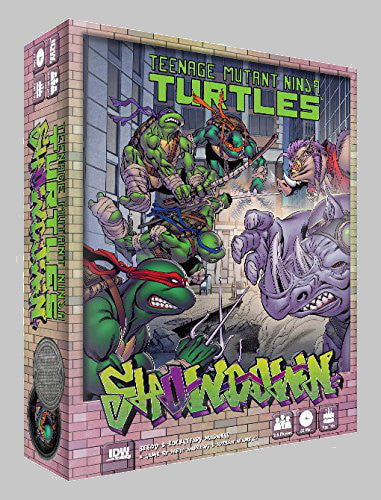 TMNT Showdown Bebop & Rocksteady Board Game