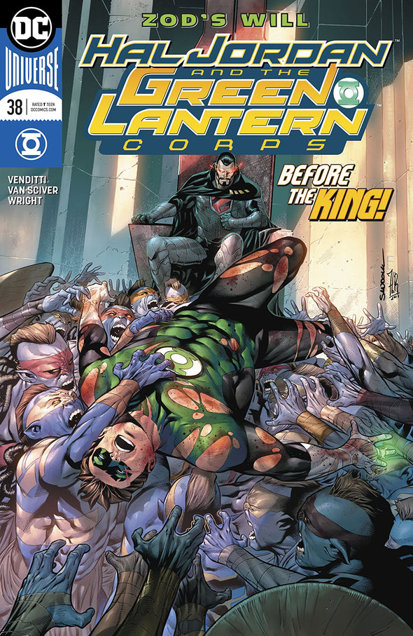 Hal Jordan and The Green Lantern Corps (2016) #38