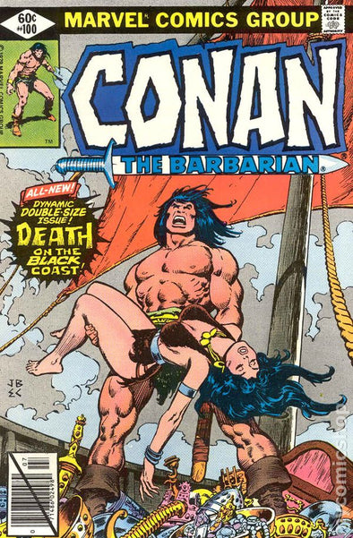 Conan the Barbarian (1970) #100