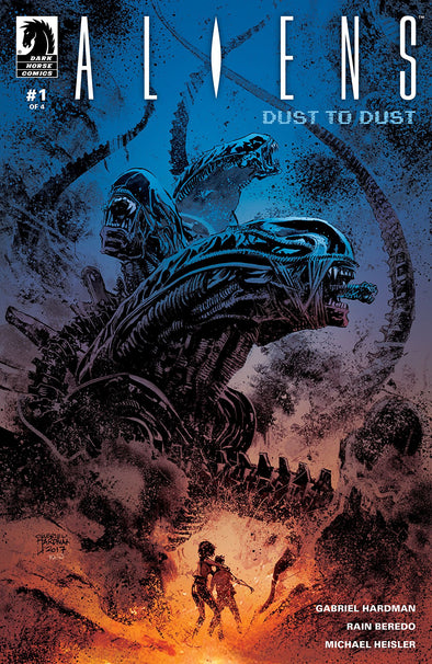 Aliens: Dust to Dust (2018) #01
