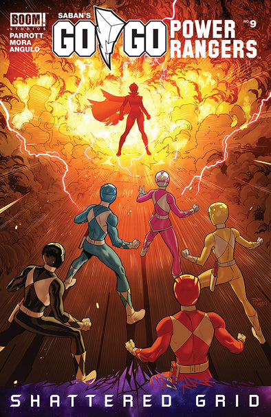 Go Go Power Rangers (2017) #09