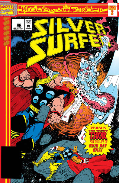Silver Surfer (1987) #086