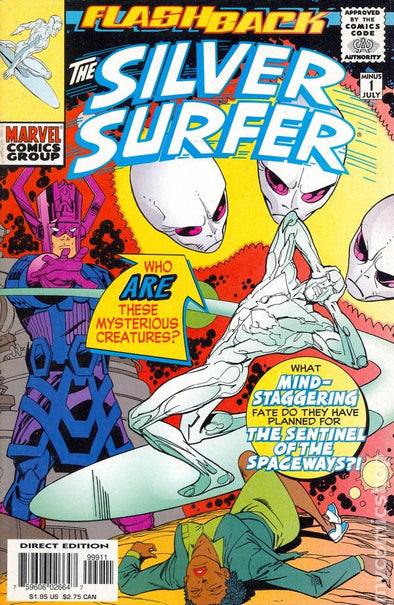 Silver Surfer (1987) #-1