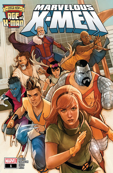 Age of X-Man: Marvellous X-Men (2019) #01