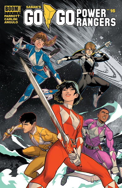 Go Go Power Rangers (2017) #16