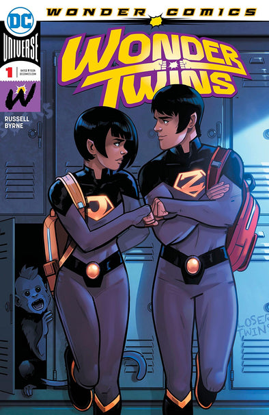 Wonder Twins (2019) #01 (DF Signed by Mark Russell + COA)