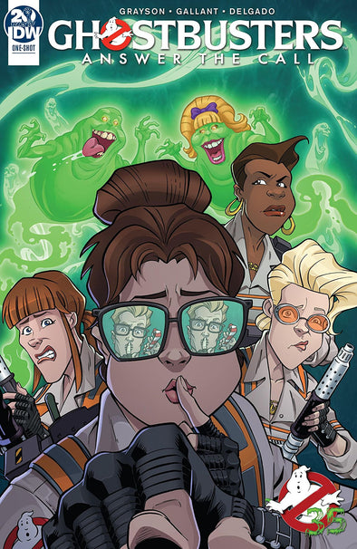 Ghostbusters 35th Anniversary Answer the Call Ghostbusters (2019) #01