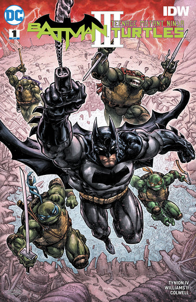 Batman/Teenage Mutant Ninja Turtles III (2019) #01