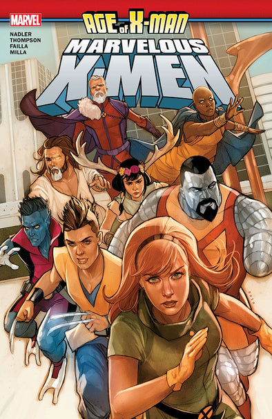 Age of X-Man: Marvelous X-Men TP