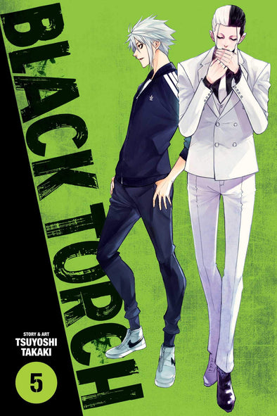 Black Torch TP Vol. 05