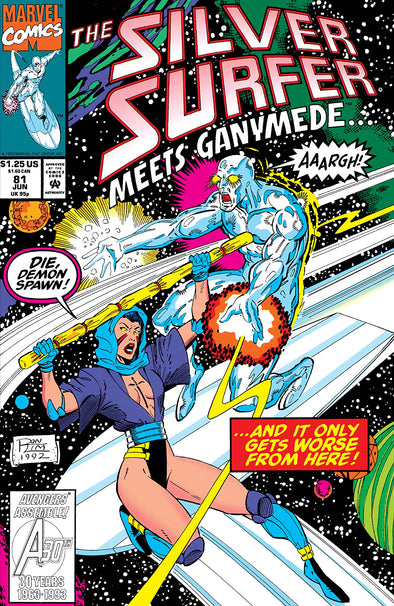 Silver Surfer (1987) #081