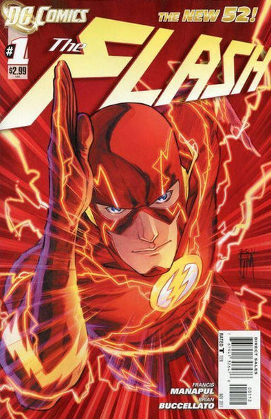 Flash (2011) #01 (2nd Printing)