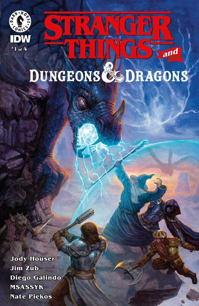 Stranger Things Dungeons & Dragons (2020) #01