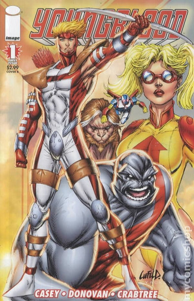 Youngblood (2008) #01 (Rob Liefeld Variant)