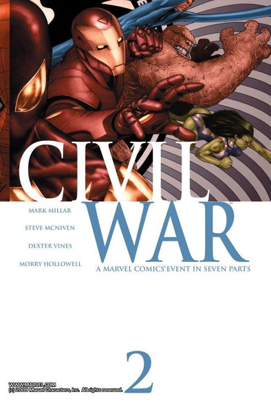 Civil War (2006) #02