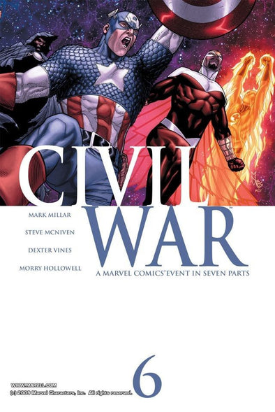 Civil War (2006) #06
