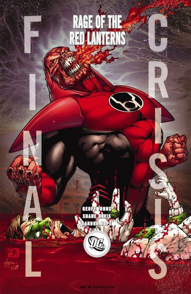 Final Crisis Rage of the Red Lanterns (2008) #01