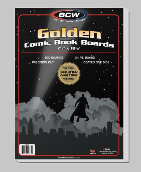 Golden Comics Book Boards