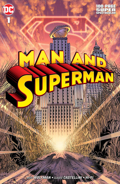 Man & Superman 100 Page Spectacular (2019) #01