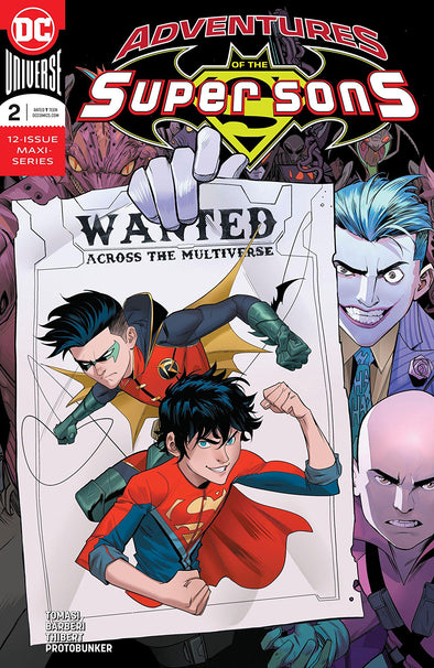 Adventures of the Super Sons (2018) #02
